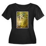 SWANS, Vintage art Print Plus Size T-Shirt