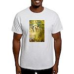 SWANS, Vintage art Print T-Shirt
