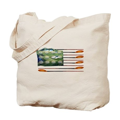 US Golf Flag Tote Bag