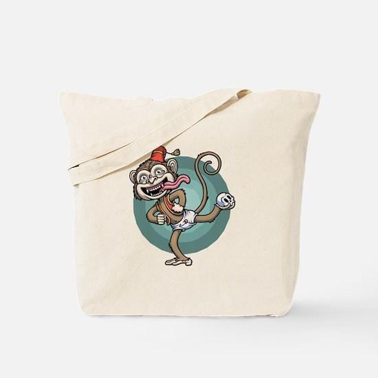 Dance, Monkey! Tote Bag