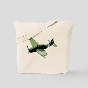 WW2 Plane Tote Bag