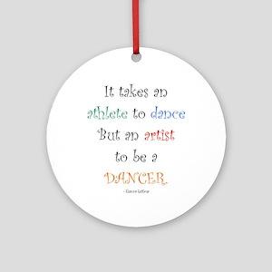 Artist Dance New Ornament (Round)