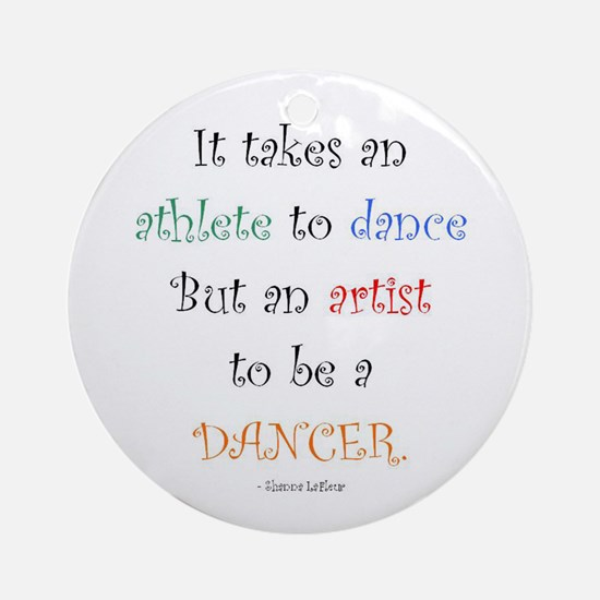 Artist Dance New Ornament (Round)