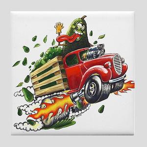 Avo Truckin Tile Coaster