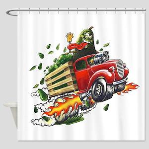 Avo Truckin Shower Curtain
