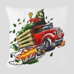 Avo Truckin Woven Throw Pillow