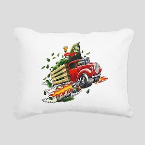 Avo Truckin Rectangular Canvas Pillow