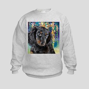 Dachshund Painting Sweatshirt