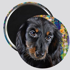 Dachshund Painting Magnets