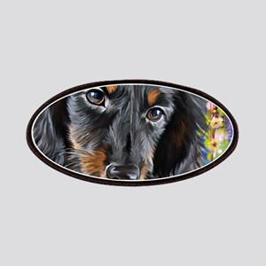Dachshund Painting Patch