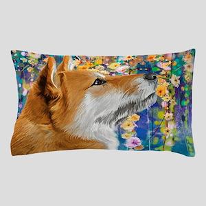 Shiba Inu Painting Pillow Case