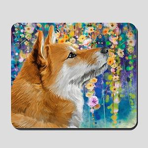 Shiba Inu Painting Mousepad