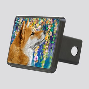 Shiba Inu Painting Hitch Cover