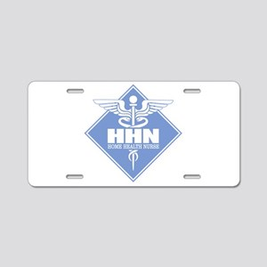 Home Health Nurse Aluminum License Plate