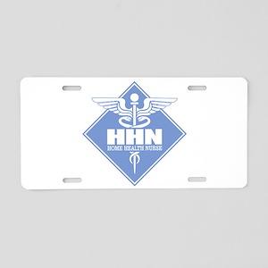 Home Health Nurse Aluminum License Plate