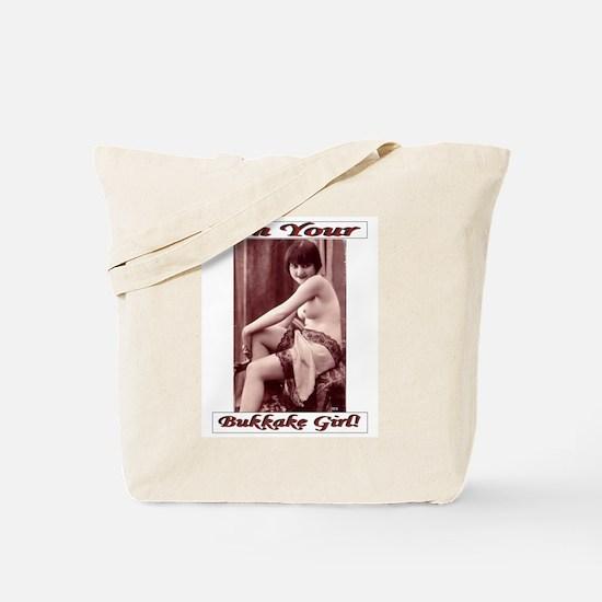 Bukkake Girl Towel & Bodywash Tote Bag