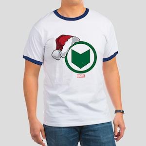 Hawkeye Santa Ringer T