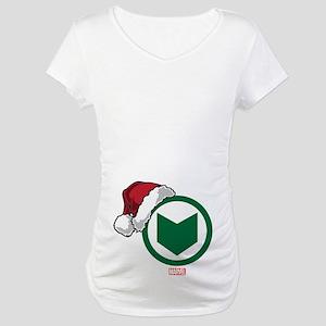 Hawkeye Santa Maternity T-Shirt