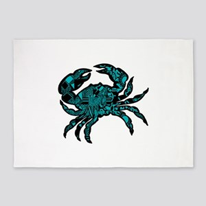 CLAWS 5'x7'Area Rug