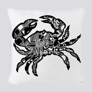 CLAWS Woven Throw Pillow