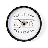 Retirement Wall Clocks