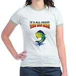 IAATBO! Jr. Ringer T-Shirt