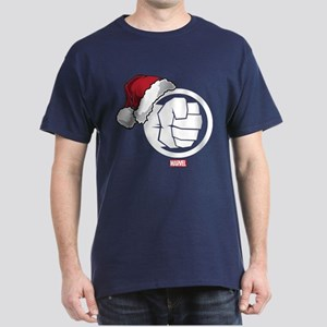 Hulk Santa Dark T-Shirt