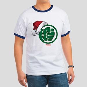 Hulk Santa Ringer T