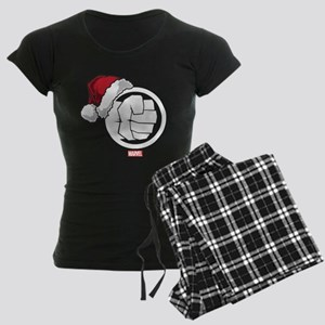 Hulk Santa Women's Dark Pajamas