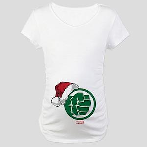 Hulk Santa Maternity T-Shirt