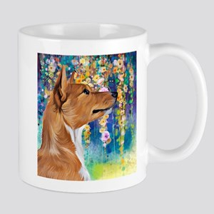 Basenji Painting Mugs