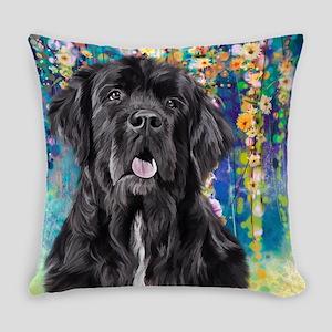 Newfoundland Painting Everyday Pillow