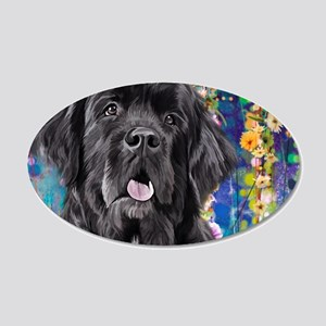 Newfoundland Painting Wall Decal