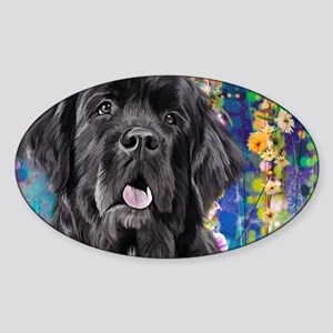 Newfoundland Painting Sticker