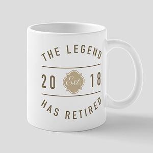 2018 Retired Legend Mugs