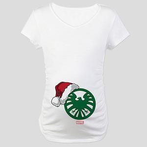 SHIELD Logo Santa Maternity T-Shirt