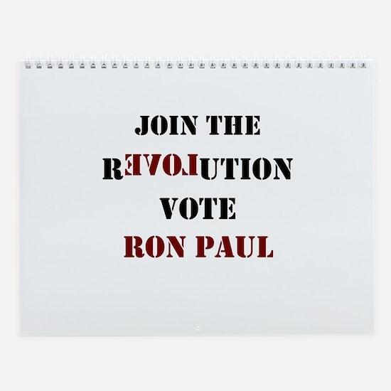 JOIN THE REVOLUTION Wall Calendar