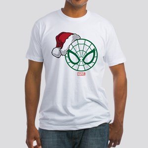 Spider-Man Santa Fitted T-Shirt