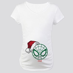 Spider-Man Santa Maternity T-Shirt