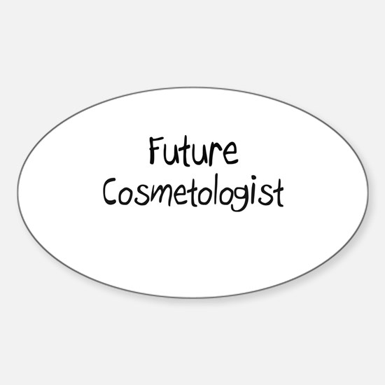 Future Cosmetologist Oval Decal