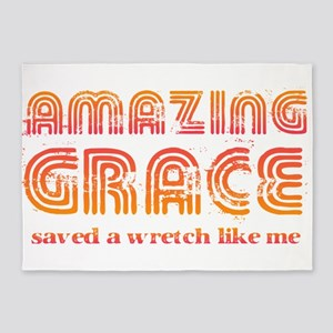 Amazing Grace 5'x7'Area Rug