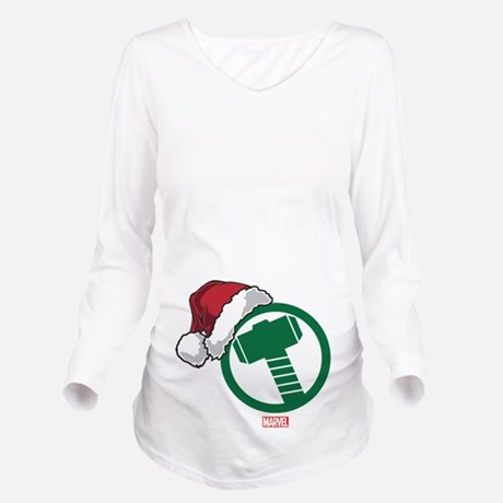 Thor Hammer Holiday Maternity Shirt