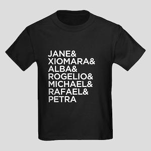 Jane the Virgin Names Kids Dark T-Shirt