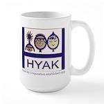 Large Mug with classic Hyak logo