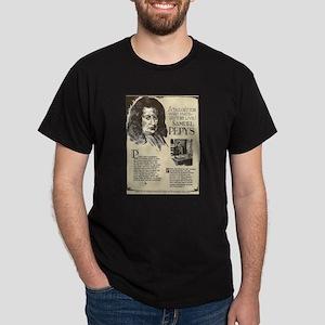 Samuel Pepys Mini Biography T-Shirt