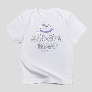 Lilac Fedora Infant T-Shirt