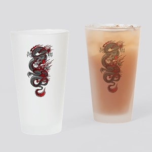 Asian Dragon Drinking Glass