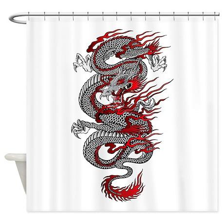 Asian Dragon Shower Curtain