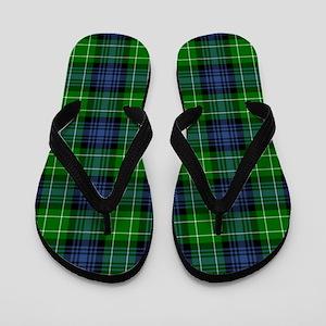 Tartan - Abercrombie Flip Flops
