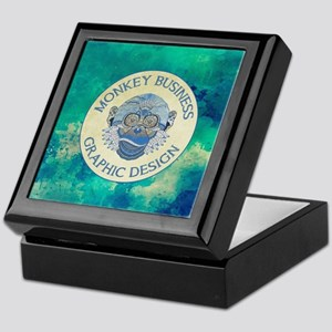 MONKEY BUSINESS GRAPHIC DESIGN Keepsake Box